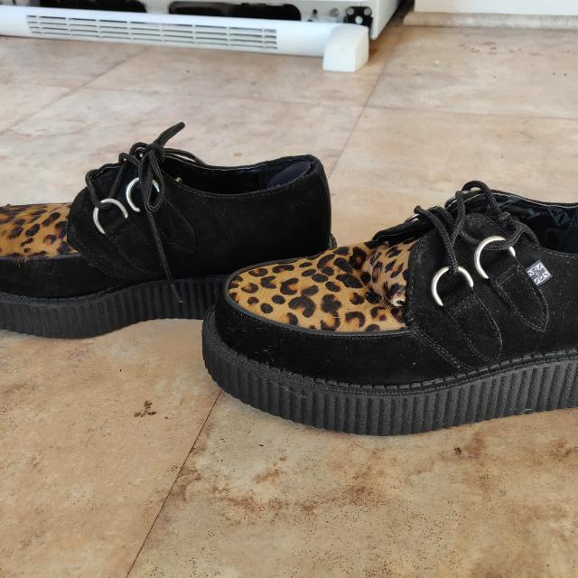 e0ca0a21f8d0 Find more Cheetah Punk Platform Shoes for sale at up to 90% off