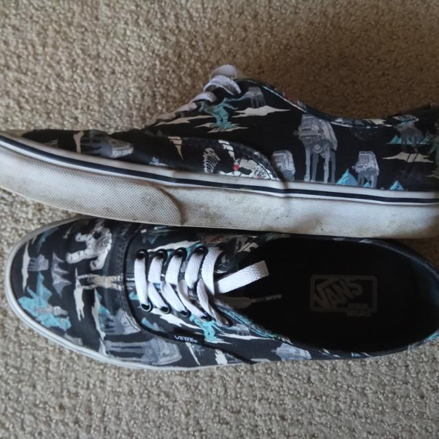 67a34f1894c18d Find more Vans X Star Wars Battle Of Hoth Men s 9.5 for sale at up ...