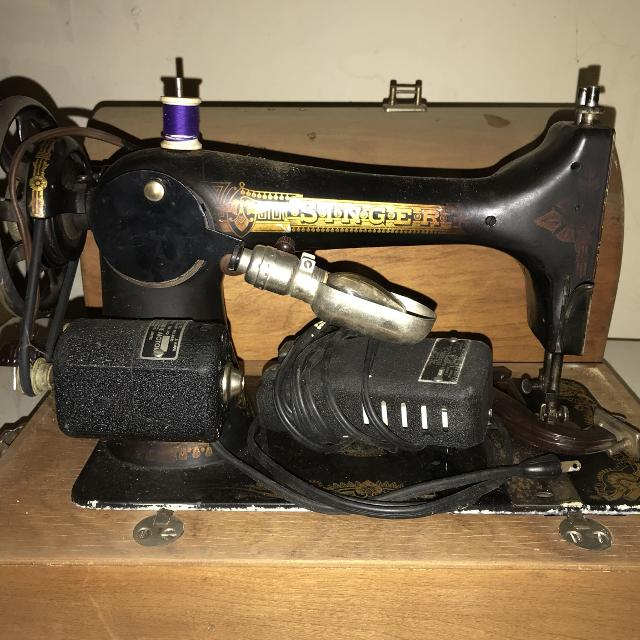 Best Vintage Singer Sewing Machine From The Early 40's For Sale Gorgeous Early Singer Sewing Machine