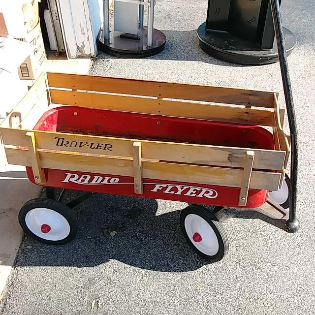 Find More Old Radio Flyer Wagon Read