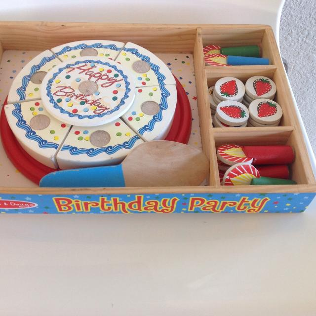 Best Melissa And Doug Birthday Cake Set For Sale In Victoria