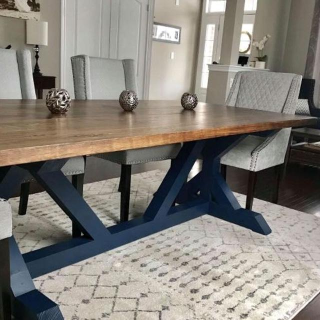 Best Farmhouse X Harvest Table For Sale In Clarington Ontario For 2020