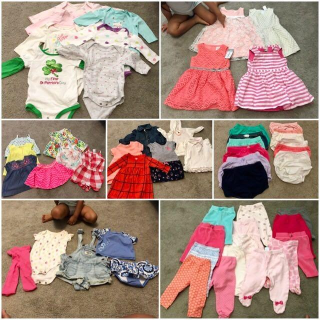 ad994a983 Find more 55 Piece Lot. Baby Girl Clothes 3-6mo/6mo. Ralph Lauren, Carter's,  Old Navy, Oshkosh B'gosh, Cherokee, Etc (aa) for sale at up to 90% off