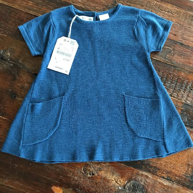 0142be7e Find more Adorable Knit Zara Baby Girls Dress Nwt for sale at up to ...