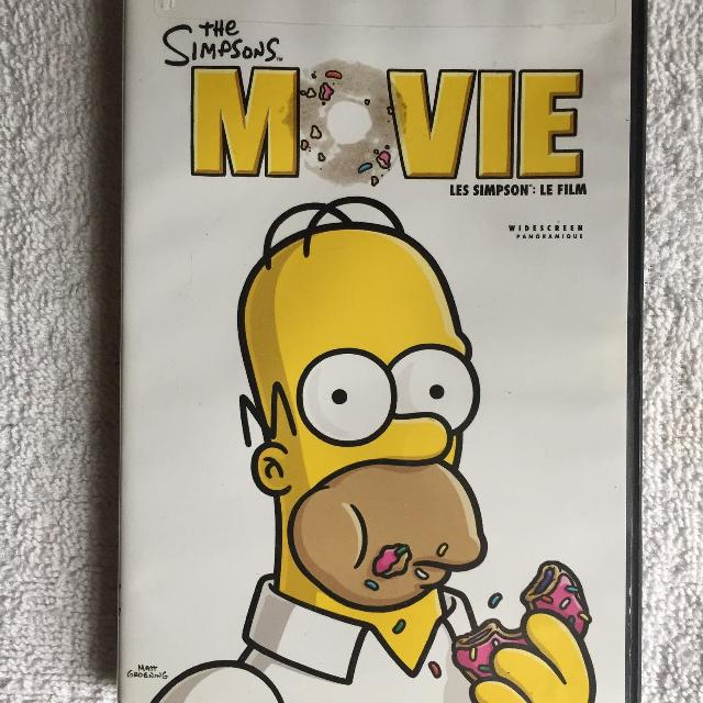 Find More The Simpsons Movie Dvd For Sale At Up To 90 Off