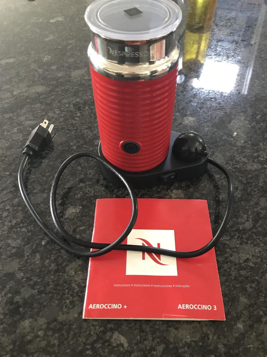 Find More Nespresso Aeroccino 3 For Sale At Up To 90 Off