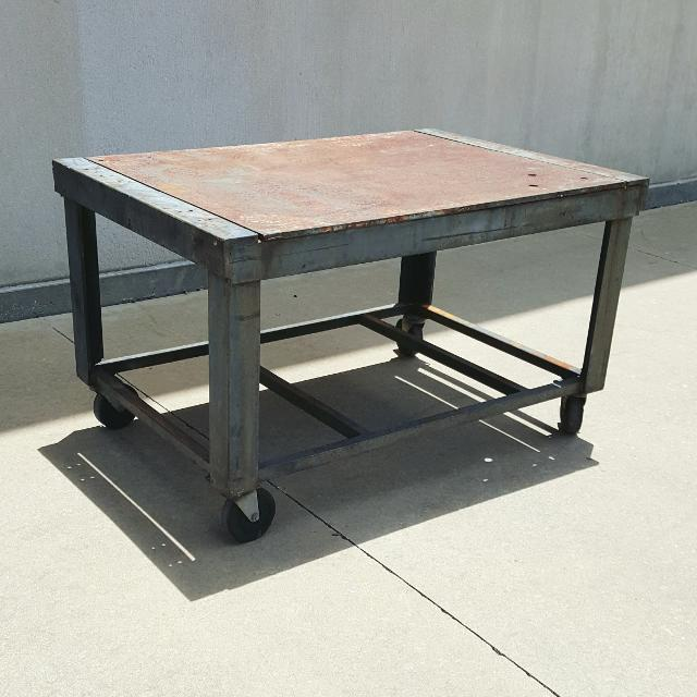 Welding Table For Sale >> Find More Professional Built Heavy Duty Welding Table On Casters For