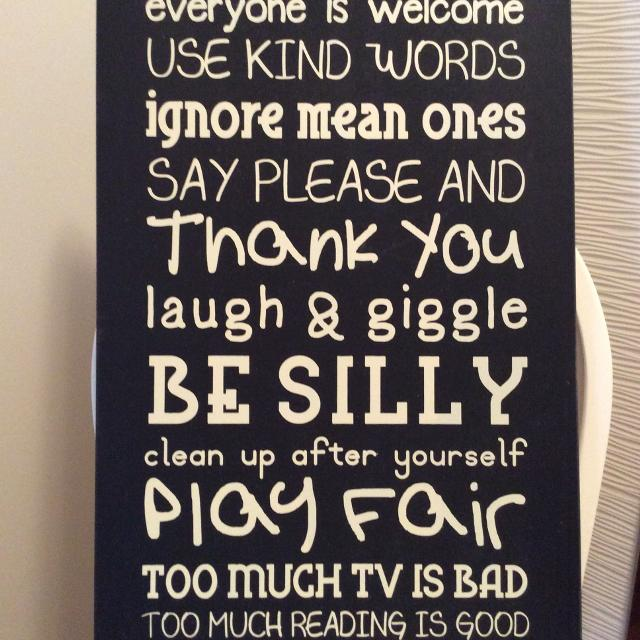 Find more playroom rules picture in wood frame for sale at up to 90 playroom rules picture in wood frame solutioingenieria Choice Image
