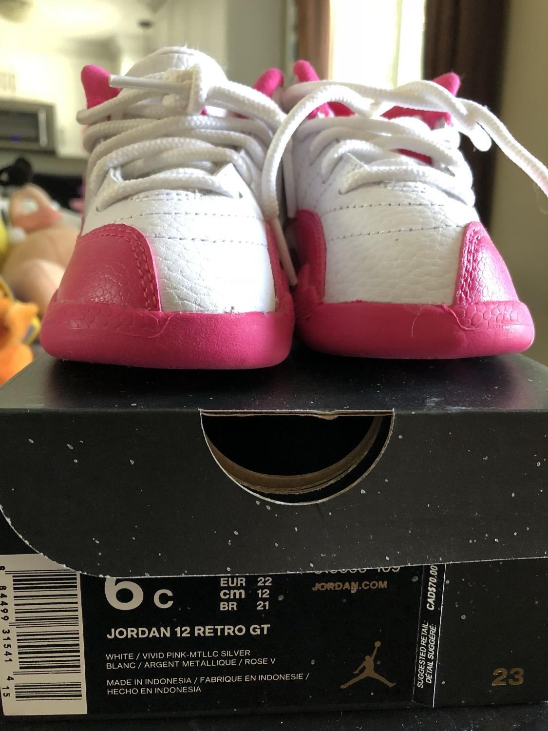 781f8e39f59e14 Find more Nike Air Jordan 12 Retro Gt Toddler Shoes for sale at up ...