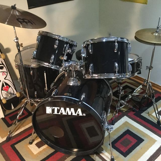 Best Tama Swingstar 7 Piece Drum Set With Music Stand Throne Extra Crash Cymbal For Sale In Newmarket Ontario 2019