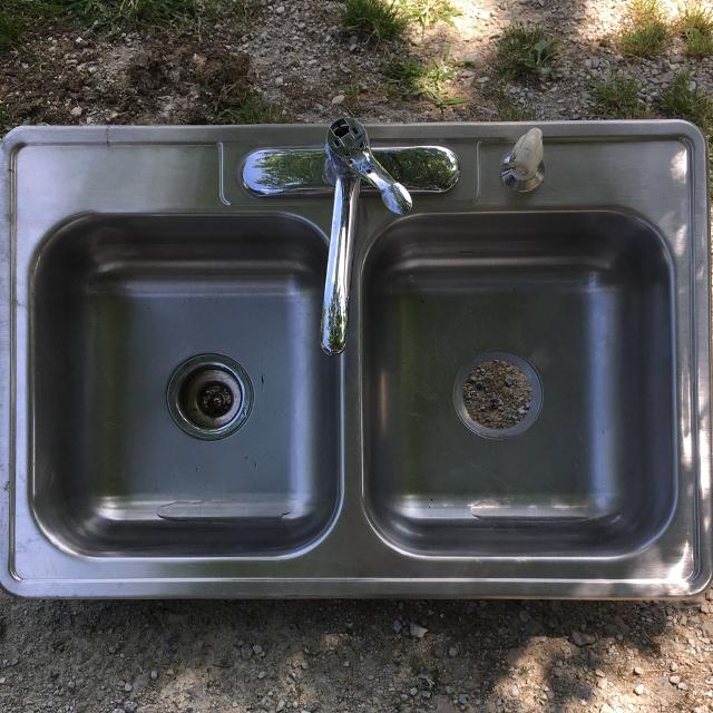 Find More Stainless Steel 4 Hole Sink With Faucet And Hose Price