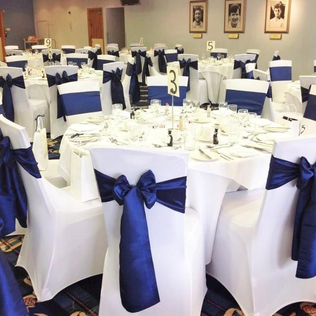 180 White Wedding Chaircovers Used