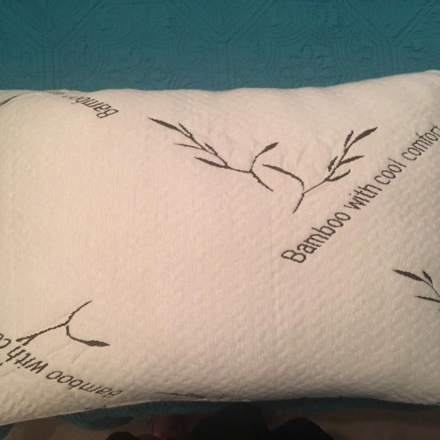 Find More Bamboo With Cool Comfort Pillow Used 1 Night For Sale At
