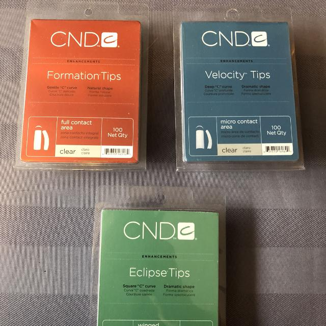 Find more Assorted Nail Tips Cnd for sale at up to 90% off