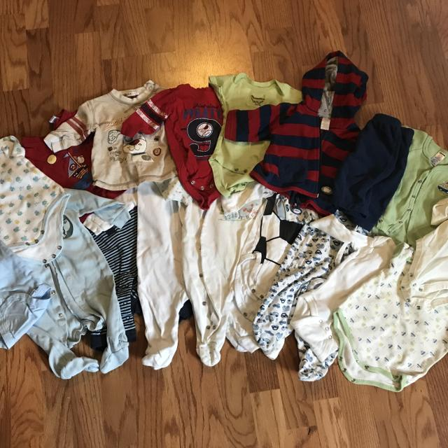 64f1875f244e Best Baby Boy Clothes 0-3 Months Jumpers, Onesies, Sweater, Pants... for  sale in Hanover, Ontario for 2019