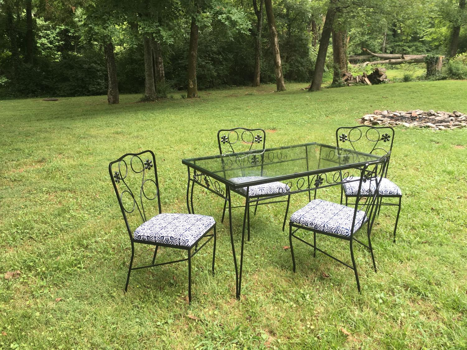 Best Wrought Iron Patio Table For Sale In Nashville Tennessee For 2020