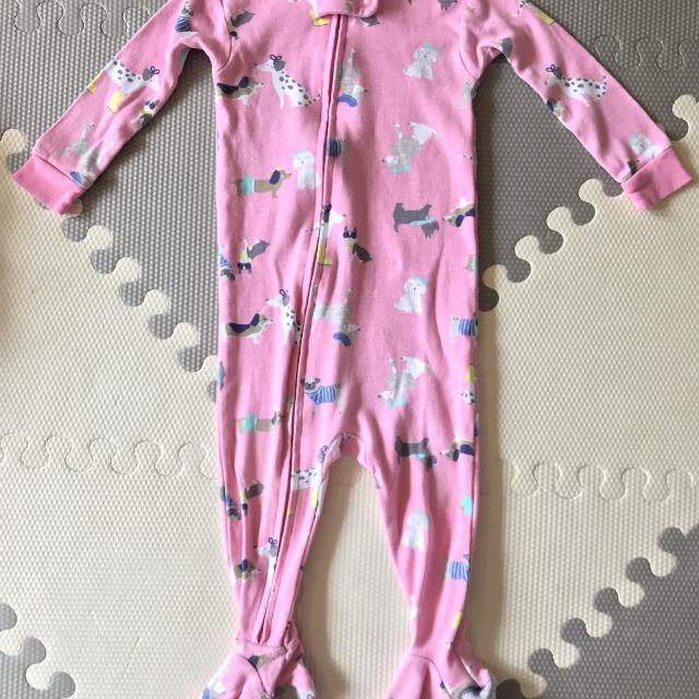89b5d77e30 Best Euc Doggie Carters Cotton 9 Month Zip Up Sleeper for sale in  Clarington