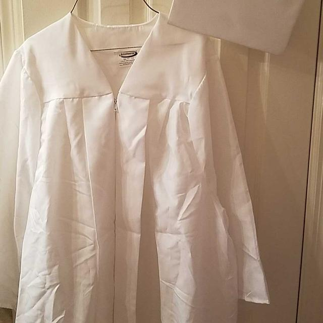 Best Jostens White Cap And Gown for sale in Hendersonville ...