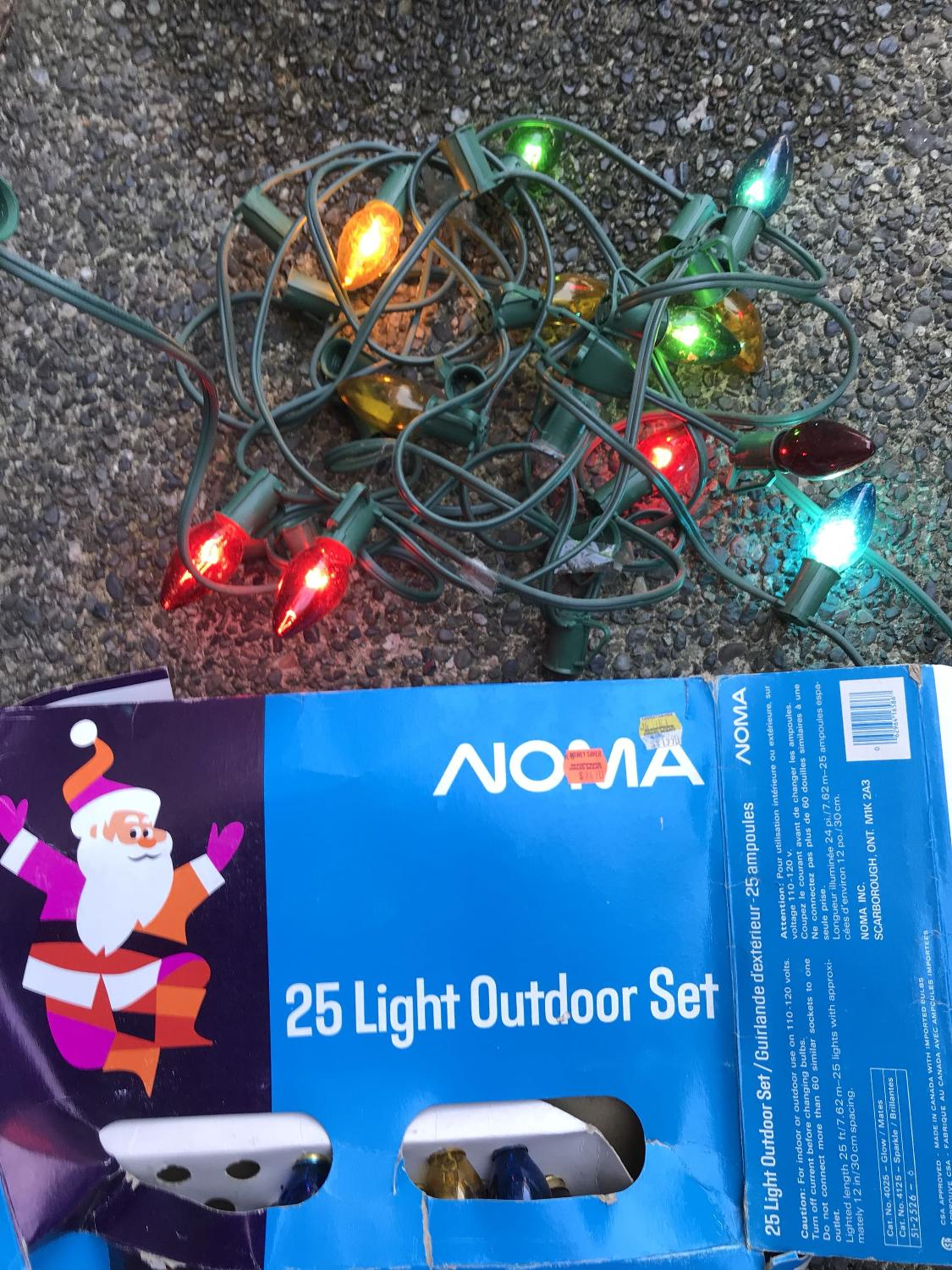 Find more Old Style Large Christmas Lights. Comes With A Bunch Of ...