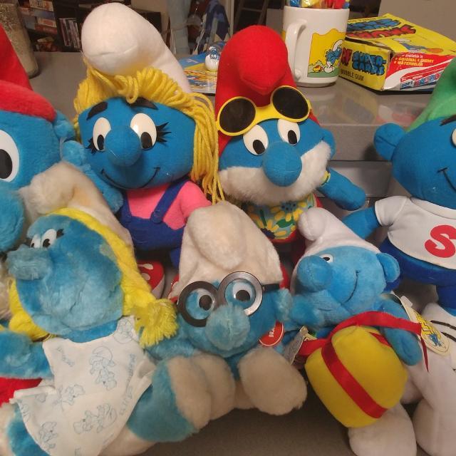 Best Vintage Smurf Dolls For Sale In Kerrville Texas For 2018