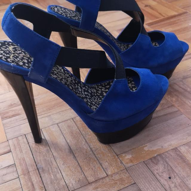 7cca5aeaed Best Royal Blue Strappy Heels for sale in Dollard-Des Ormeaux, Quebec for  2019