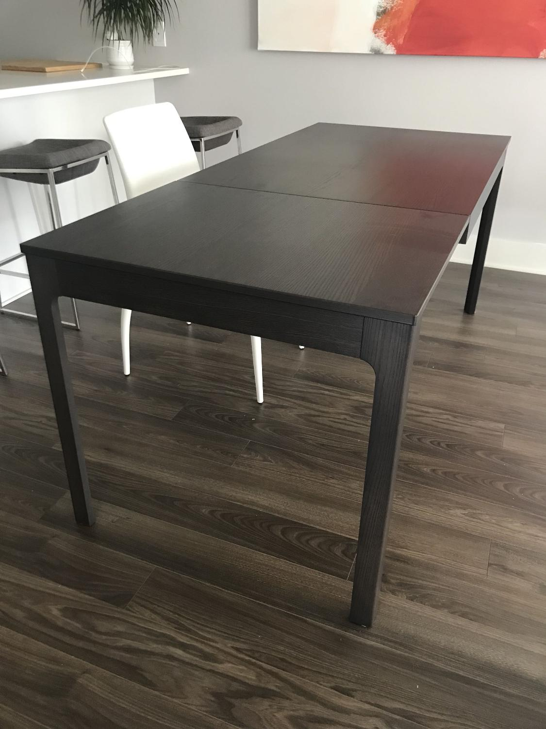 Find More Ikea Ekedalen Extendable Dining Table Dark Brown For Sale