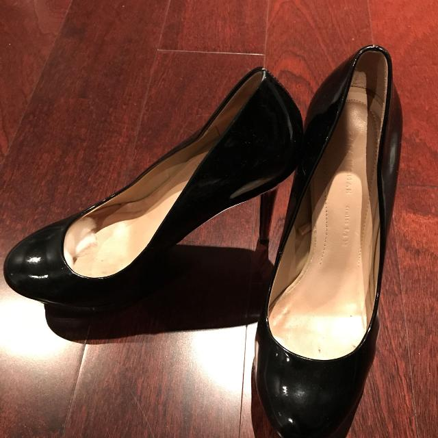 61b488190d8 Best Zara Women Shoes Black   Glossy