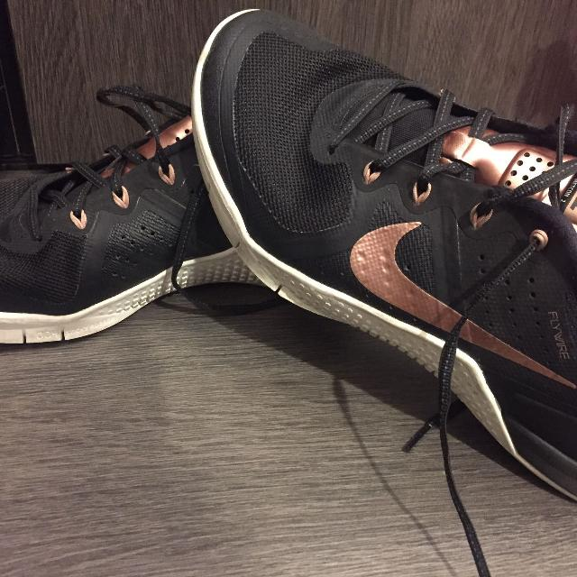 quality products great prices fashion styles Price change!! Size 9 Womens Nike Metcon 2 Flywire runners - black with  rose gold. Very unique!!