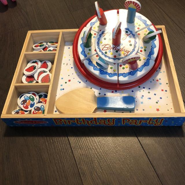 Find More Melissa And Doug Birthday Cake Set For Sale At Up To 90 Off