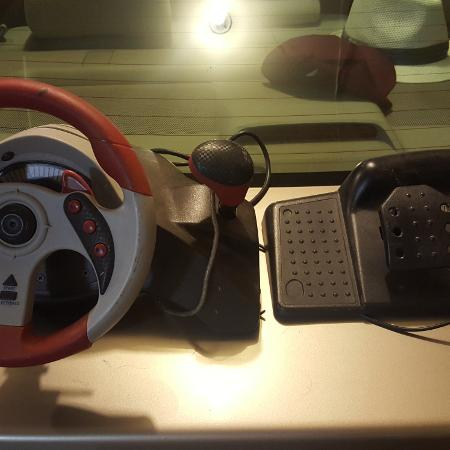 Gaming steering wheel xbox gamecube..., used for sale  Canada