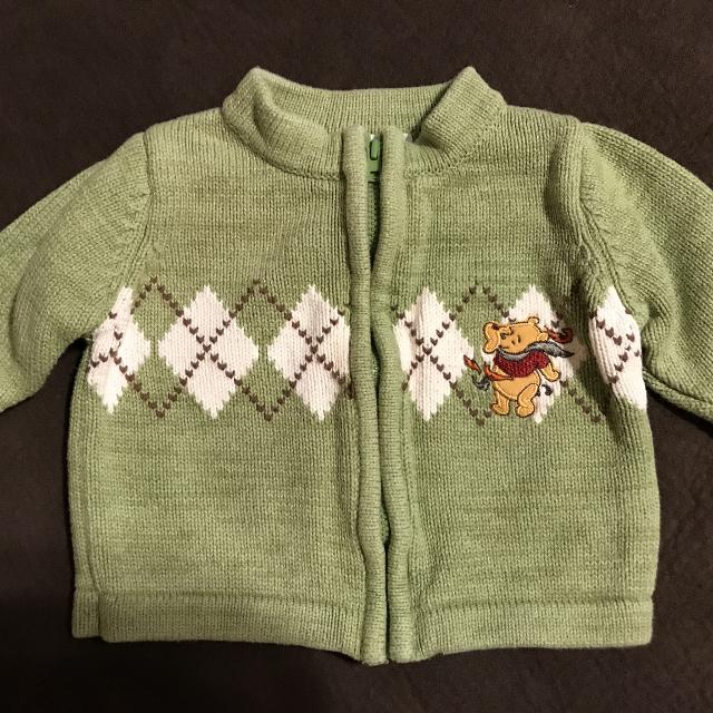 0804a6f5c Find more Baby Boys H m Winnie The Pooh Sweater Jacket Size 3 ...