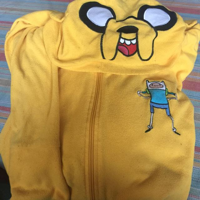 bc245e2dfbc8 Find more Adventure Time Jake Adult Onesie Xl for sale at up to 90% off