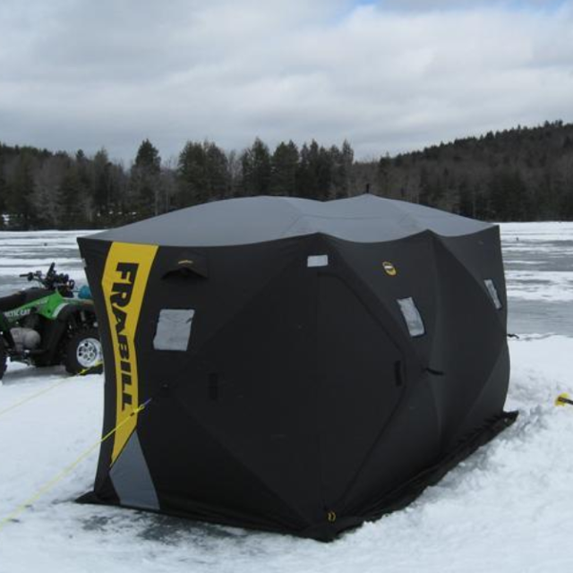 Price reduced - Frabill HQ300 Ice Fishing Shelter