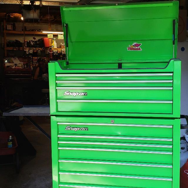 Snap On Extreme Green Tool Box Set