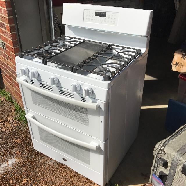 Best G E Double Oven Stovetop Gas Like New For In Mt Juliet Tennessee 2019