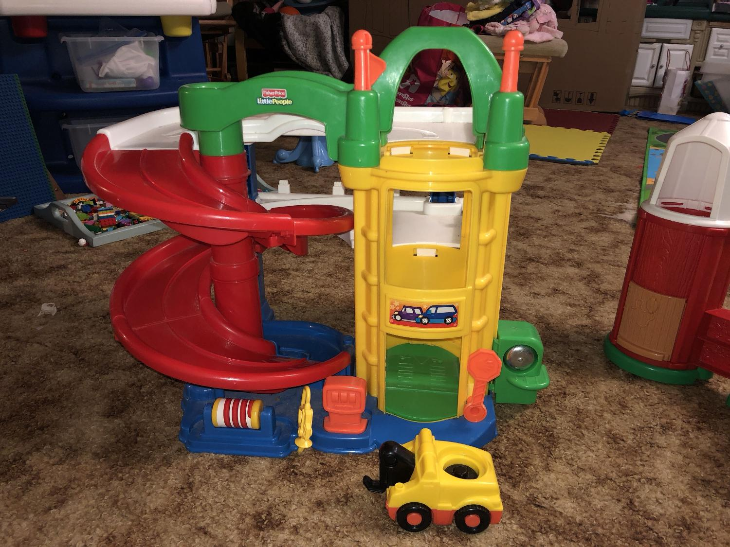 Little People Garage : Find more fisher price little people garage. euc for sale at up to