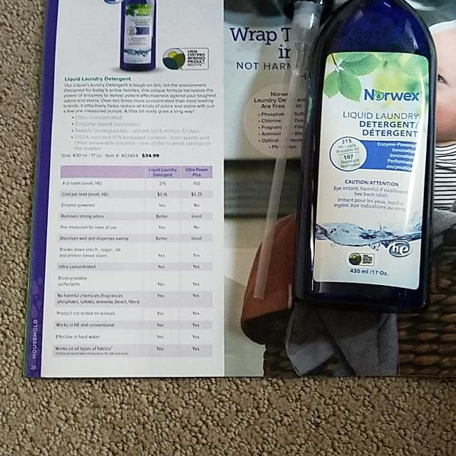 Find More Brand New Norwex Liquid Laundry Detergent For Sale At Up To 90 Off