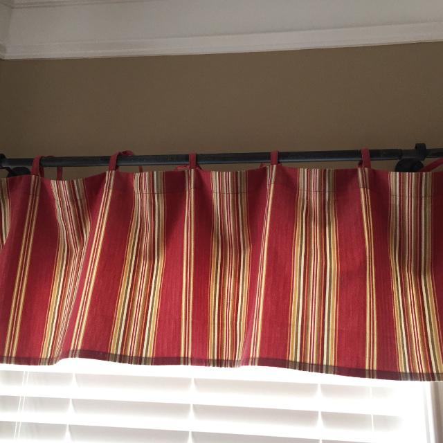Pottery Barn Kitchen Valances