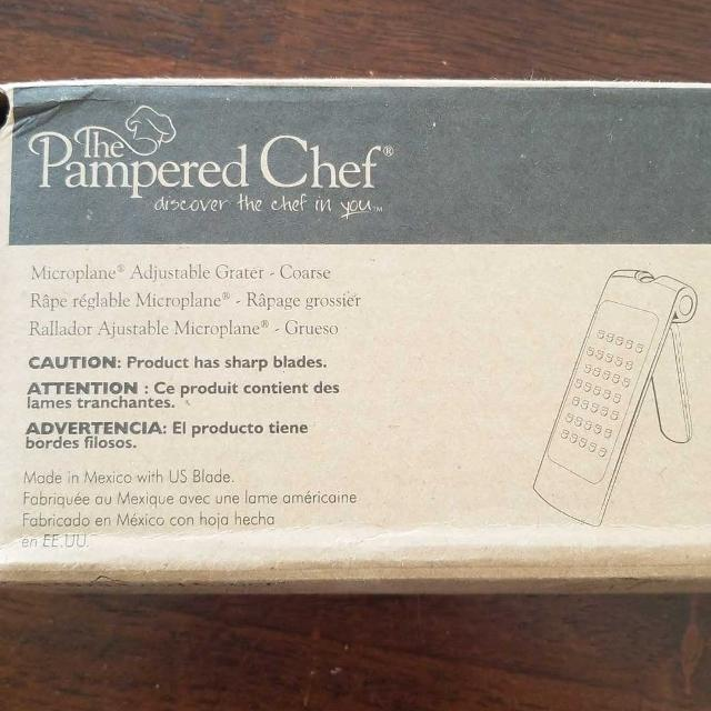 Find more Pampered Chef New In Box. Comes With Food Holder ...  Pampered