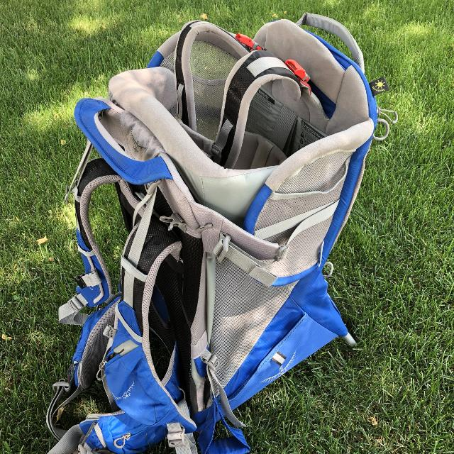 83ed6a274d5 Find more Euc!!! Osprey Poco Plus Child Carrier Backpack for sale at ...