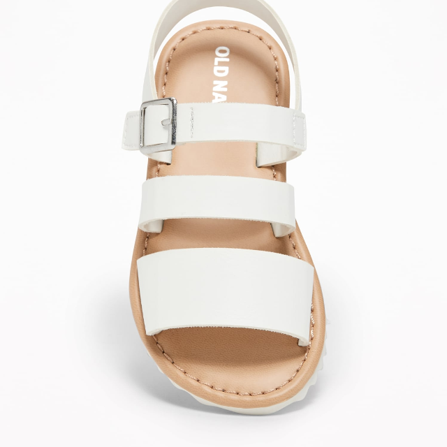 c0fbb6090665c Best Brand New Old Navy Super Cute White Sandals for sale in Potranco Road