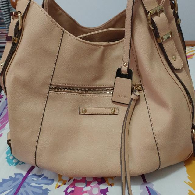 90e647c2aa0 Find more Euc Beige Aldo Purse With 3 Compartments for sale at up to ...