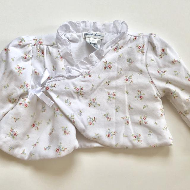 107b5e8b620 Best Baby Girls Ralph Lauren Floral Tie Front Cotton Cardigan - Sz 6 Mo for  sale in Potranco Road
