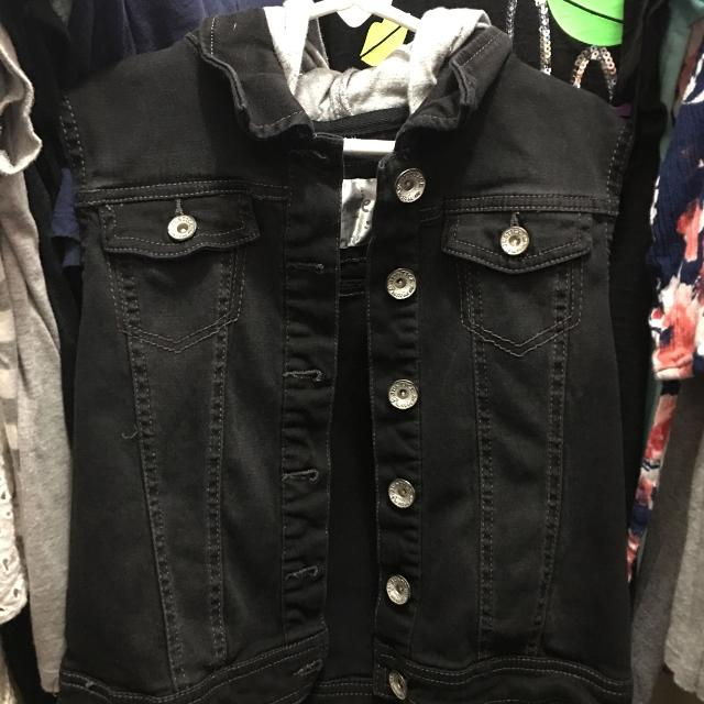 56fe3ec93e Find more Girls Justice Button Up Vest Size 10 12 for sale at up to ...