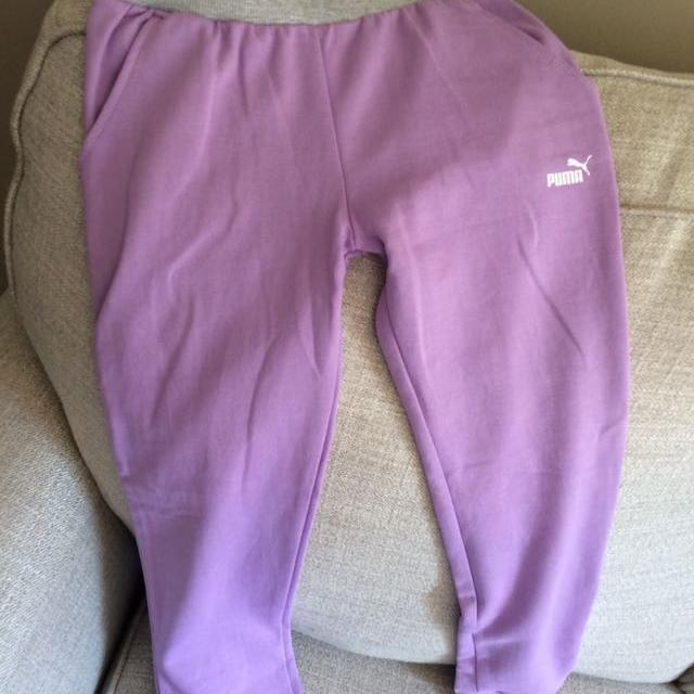 e9c45923218a Find more Girls Puma Track Pants for sale at up to 90% off