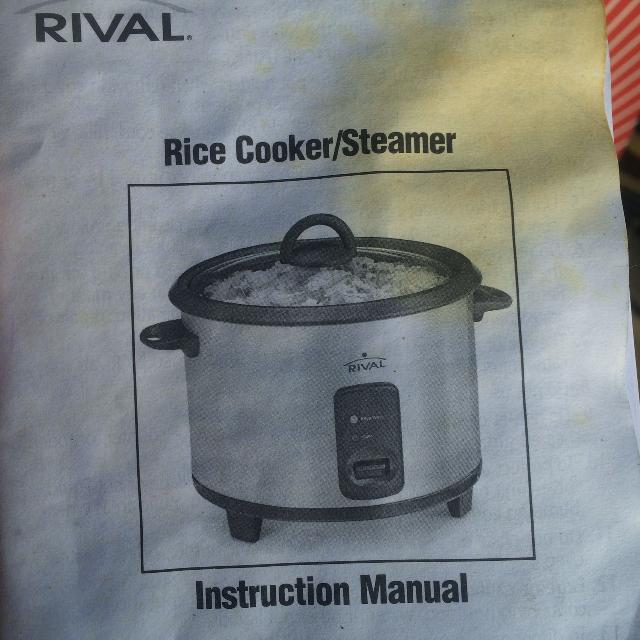 Find More Rival Rice Cookersteamer For Sale At Up To 90 Off