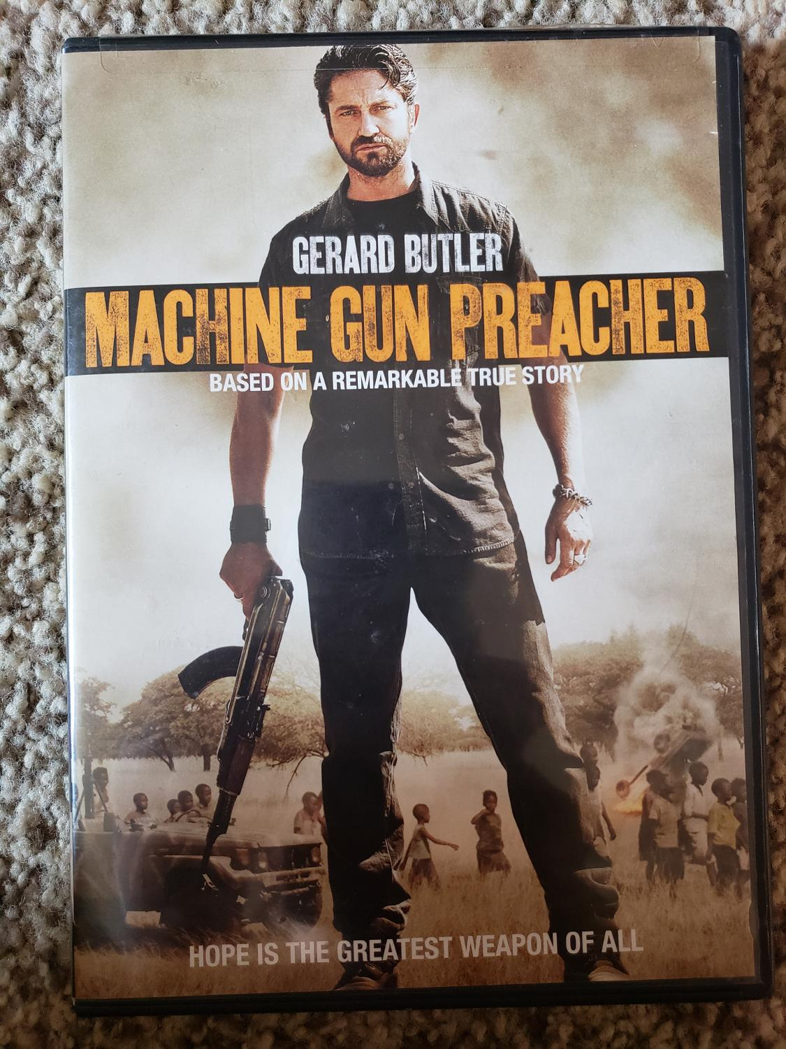 Find More Machine Gun Preacher Dvd For Sale At Up To 90 Off
