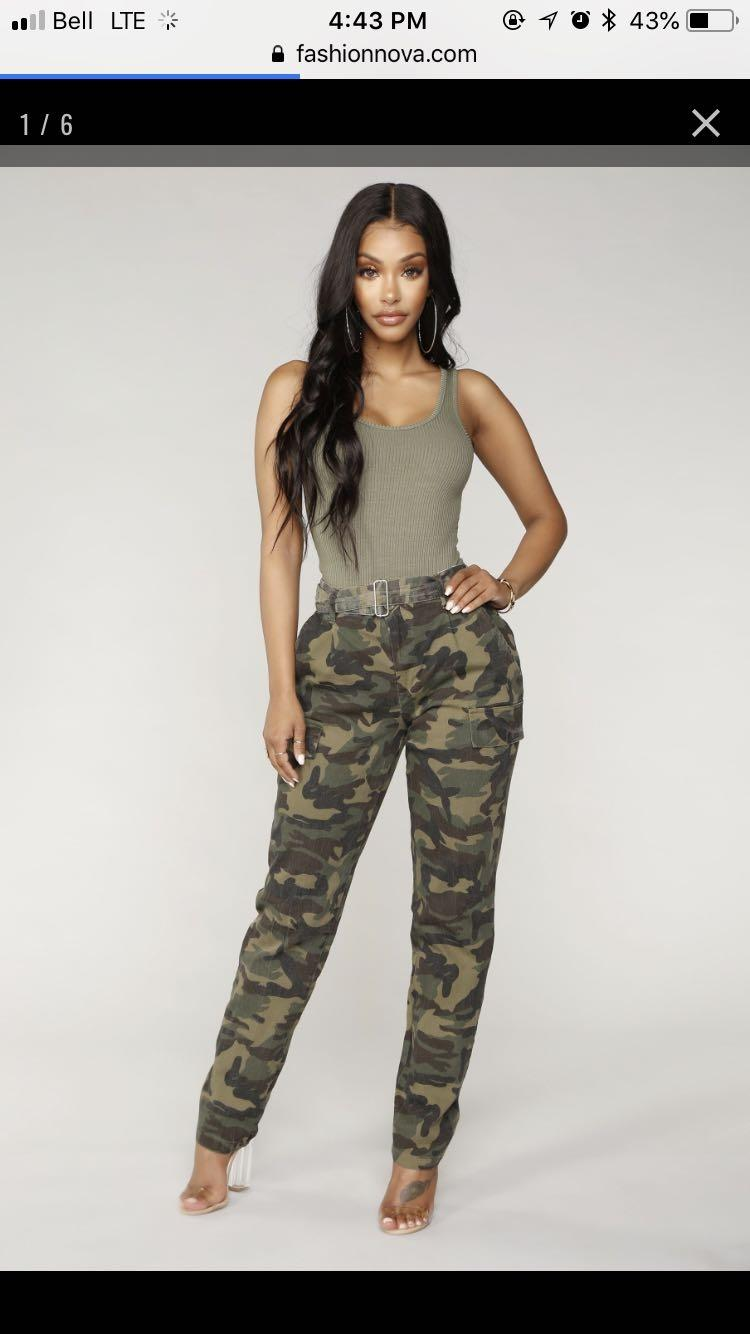 1c7a49e3f308d Best Fashion Nova Camo Pant for sale in Oshawa, Ontario for 2019