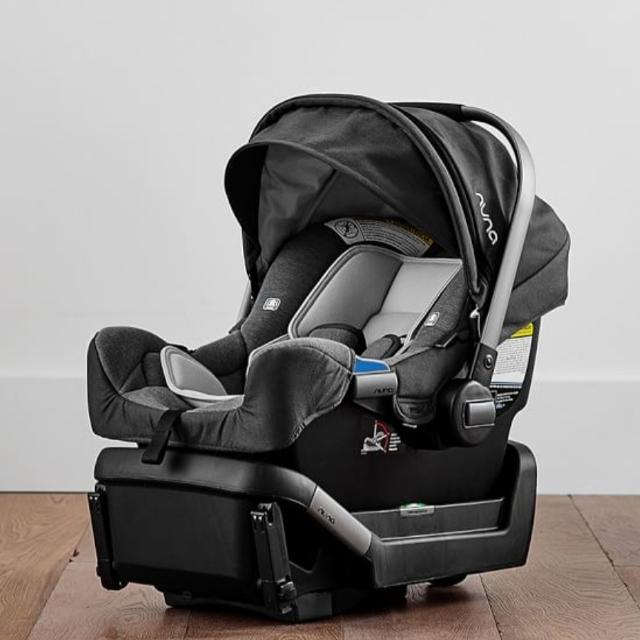 Nuna Mixx Stroller Blue With Nuna Pipa Carseat And Two Bases
