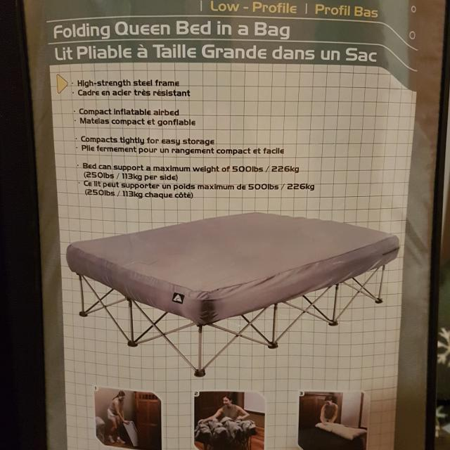 Find More Folding Queen Bed In A Bag For Sale At Up To 90 Off
